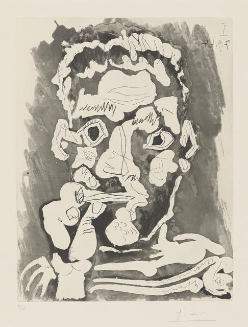 Pablo Picasso, 'Fumeur', 1964, Christie's