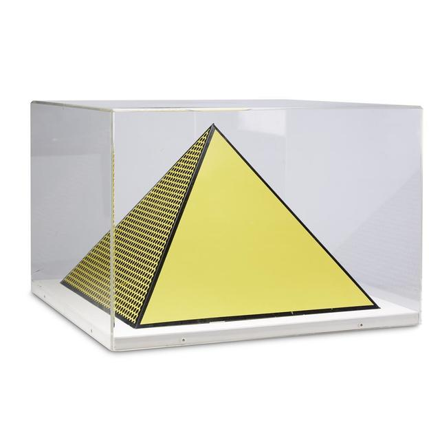 Roy Lichtenstein, 'Pyramid', 1968, Print, Ink, board, pencil, Artificial Gallery