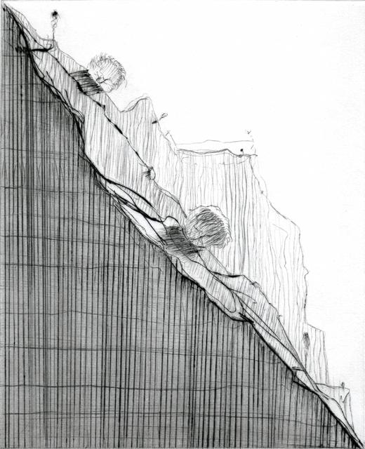 , 'Diagonal Ridge,' 2011, Crown Point Press