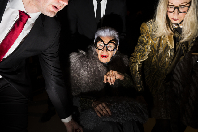 , 'Dries Van Noten (with Iris Apfel),' 2016, Spalding Nix Fine Art