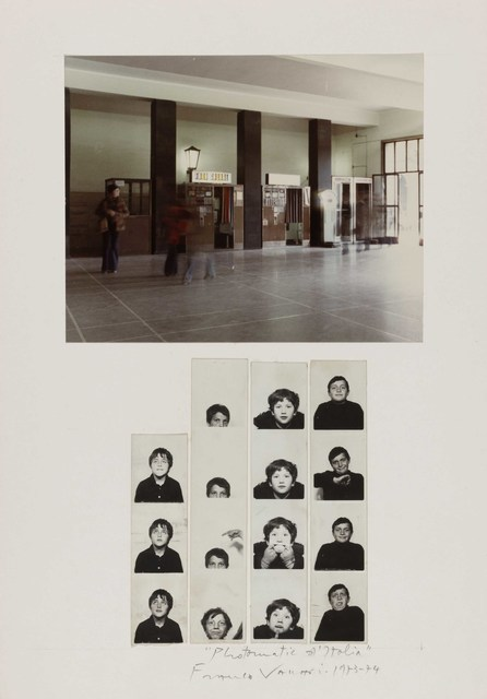 Franco Vaccari, 'Photomatic d'Italia', 1972-1973, P420