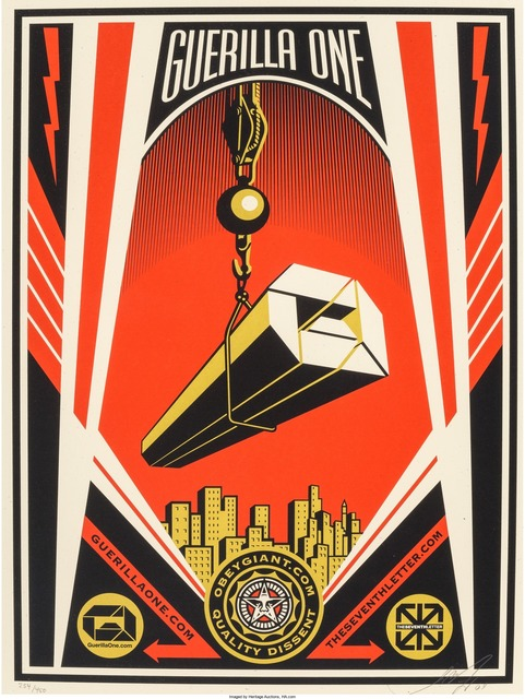 Shepard Fairey (OBEY), 'Guerilla One X The Seventh Generation Collaboration Print', 2009, Heritage Auctions