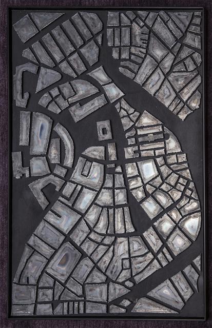 , 'Steel Map,' 2017, Gallery NAGA