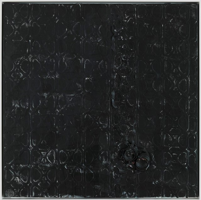 , 'Untitled (can painting),' 2012, Gagosian Gallery