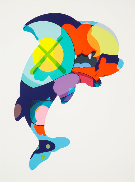 KAWS, 'Piranhas When You're Sleeping', 2016, Print, Silkscreen in colors on paper, Heritage Auctions