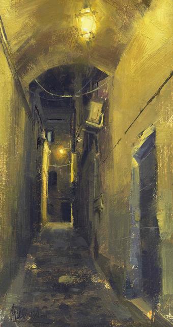 , 'Roman Alleyway,' 2015, Abend Gallery