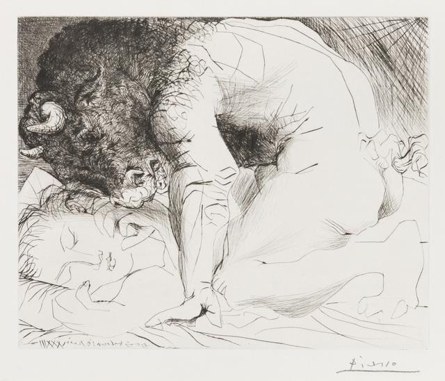 Pablo Picasso, 'MINOTAURE CARESSANT UNE DORMEUSE', 1933, Christopher-Clark Fine Art