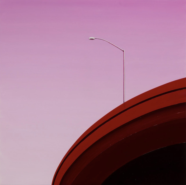 , 'Red Curve,' 2017, KP Projects
