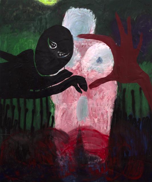 , 'A HAND, A LICENSE PLATE, VENUS, A BOX TRUCK, OSEA NIGHTTIME,' 2015, Johannes Vogt Gallery