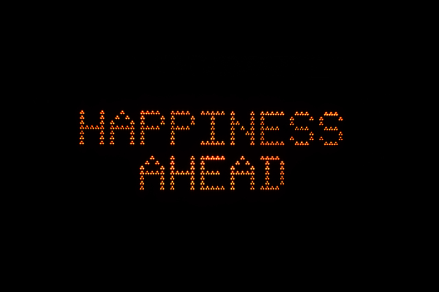 , 'Happiness Ahead,' 2016, Rhodes
