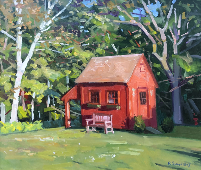 , 'Garden House,' 2019, William Baczek Fine Arts