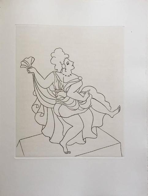 André Derain, 'Figurative Etching from Le Satyricon', 20th Century, Lions Gallery