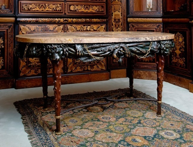 , 'Hercules table,' ca. 1770-1780, Steinitz