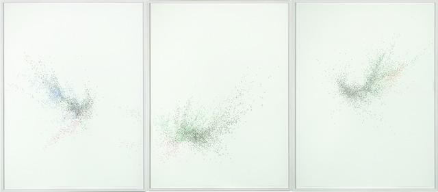 , 'Cluster (Color) #9,' 2011, stephane simoens contemporary fine art