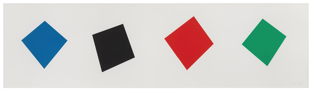 , 'Blue Black Red Green,' 2001, Mary Ryan Gallery, Inc