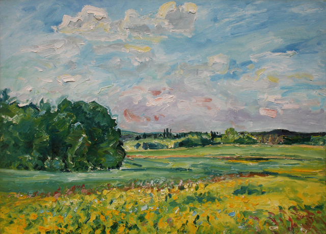 , 'Yellow Flowers,' , Wallace Galleries