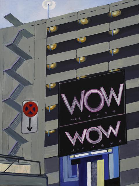 , 'WOW/West Parking,' 2016, Galerie Alex Schlesinger