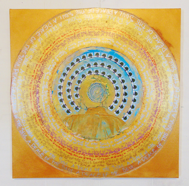 , 'A Peace of the Soul Mandala,' 2016, Tabla Rasa Gallery