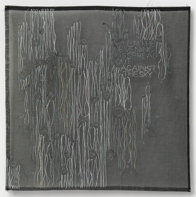 , 'AGAINST THE SKY,' 2012, carlier   gebauer