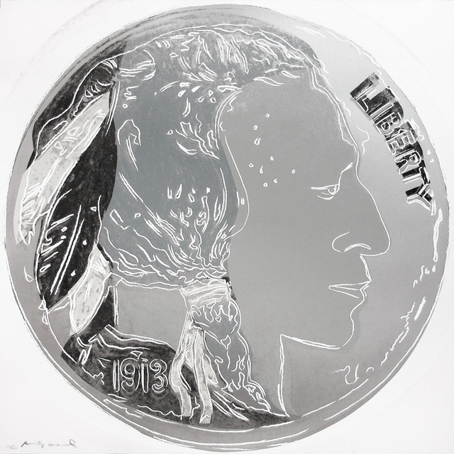Andy Warhol, 'Indian Head Nickel II.385', 1986, OSME Fine Art