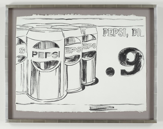 Andy Warhol, 'Pepsi Cans', ca. 1984, Drawing, Collage or other Work on Paper, Acrylic, DELAHUNTY