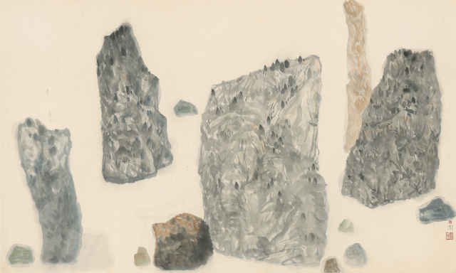 , 'Mind Structure: Fog at Dawn ,' 1998, Tina Keng Gallery