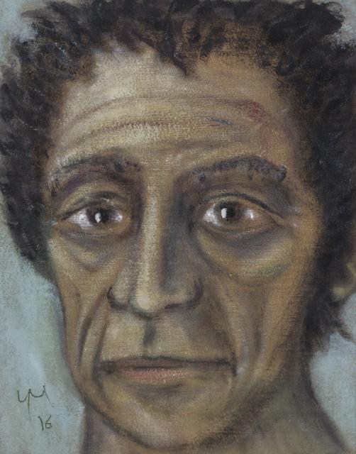 , 'Giacometti,' 2016, Grob Gallery