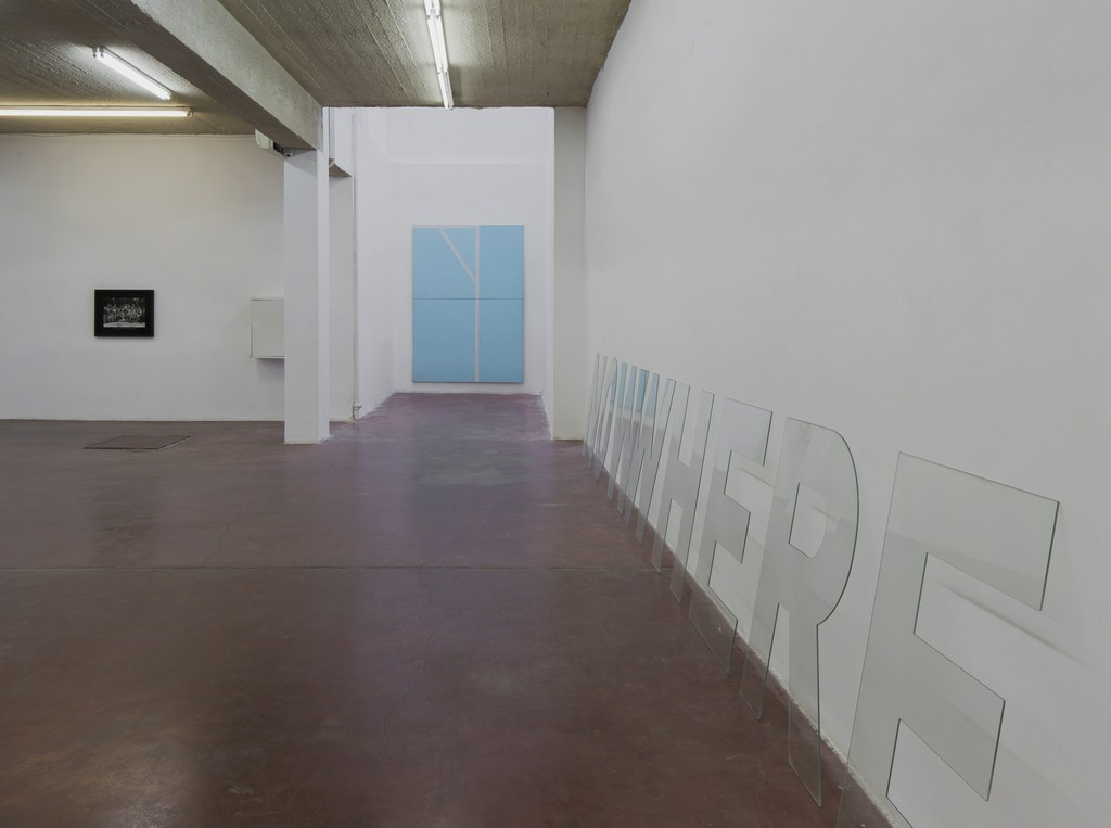 NOWWHERE, 2016, Exhibition view