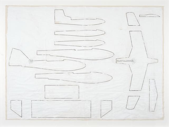 , 'Plan,' 2012, Galerie Laurence Bernard