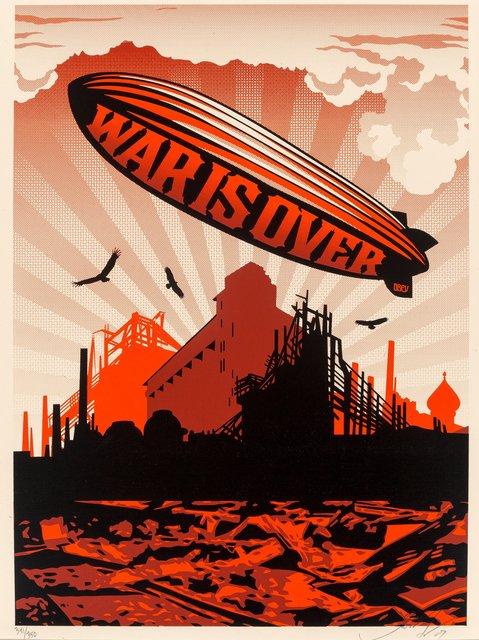 Shepard Fairey, 'War is Over', 2007, Heritage Auctions