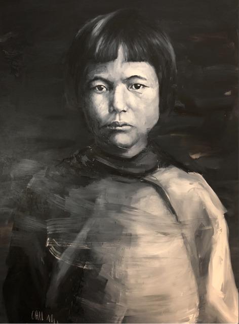 Etienne Cail, 'CHILD', 2014, Painting, Oil on canvas, AUTOGRAPHES DES SIECLES