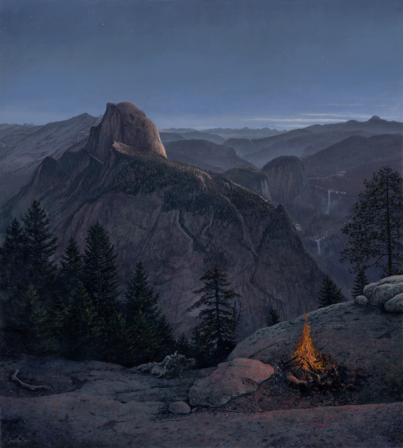 , 'Glacier Point Nocturne,' 2018, Somerville Manning Gallery