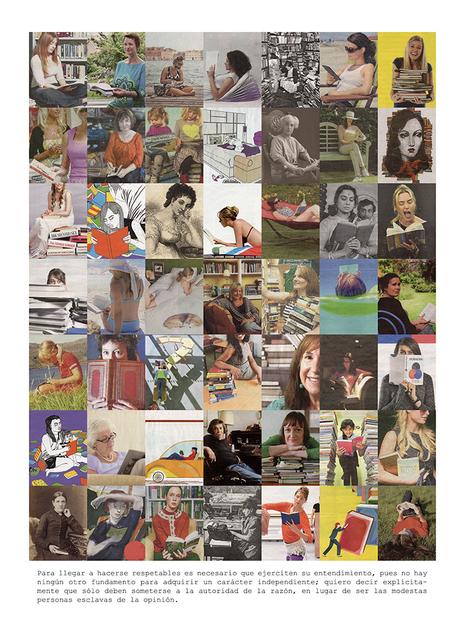 , 'Leyendo. Serie Mary Wollstonecraft,' 2016, espaivisor - Galería Visor