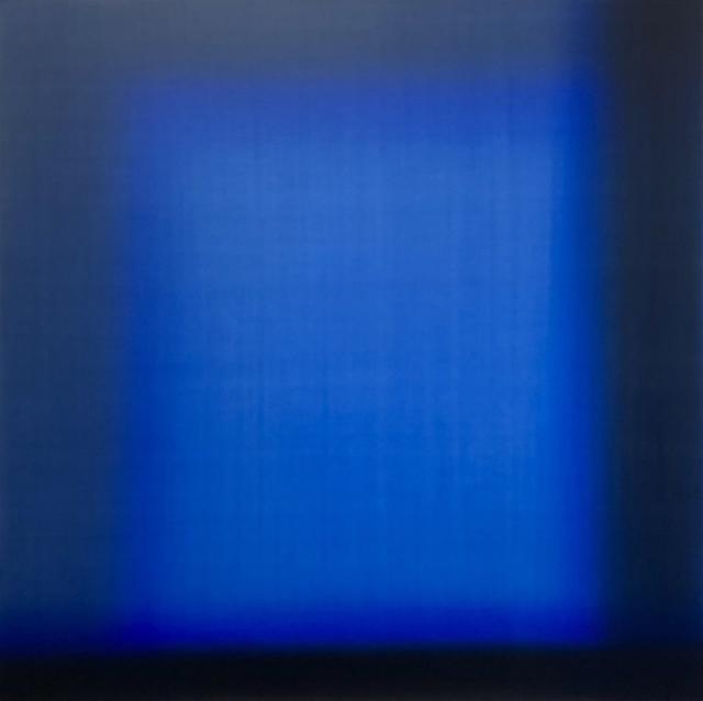 , 'Blue Square 1,' 2018, Brintz Gallery