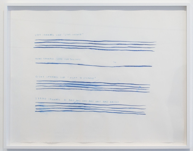 , 'Right to Silence,' 2014, Carroll / Fletcher