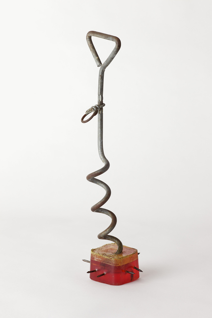 , 'Emergency Weapon #2 (leash stake and nails),' 2002, VENUS