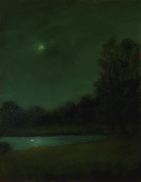 , 'Moon Over Small Lake,' 2018, Sullivan Goss