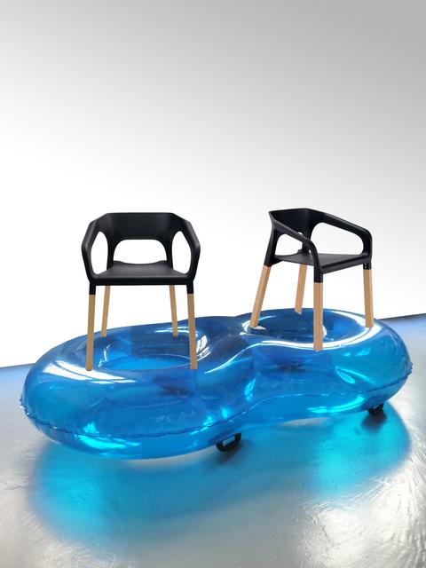 , 'Chaise bouée double popwood,' 2015, mfc - michèle didier