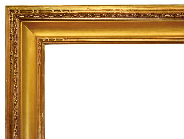 , 'American Arts and Crafts Gilt and Carved Custom Frame (40x49),' Late 20th Century, Susquehanna Antique Company