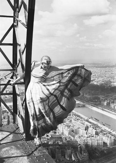 , 'Lisa Fonssagrives on the Eiffel Tower edition 2018,' 2018, Il Ponte Contemporanea