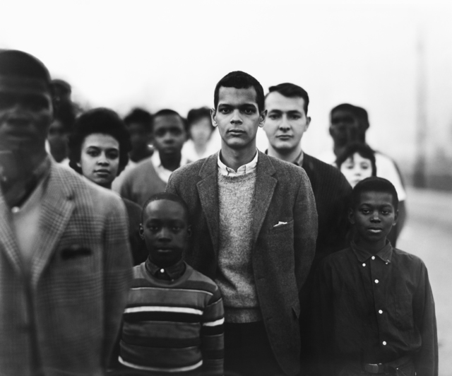, 'Student Non-violent Coordinating Committee headed by Julian Bond, Atlanta, Georgia,' March 23-1963, Pace/MacGill Gallery