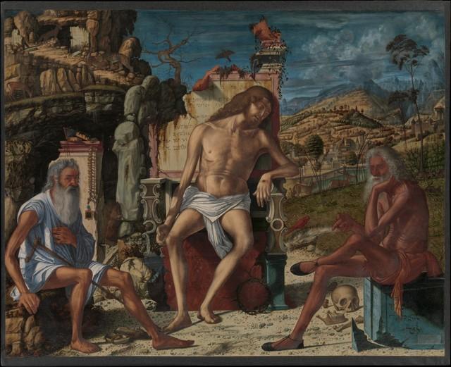 Vittore Carpaccio, 'The Meditation on the Passion', ca. 1490, The Metropolitan Museum of Art