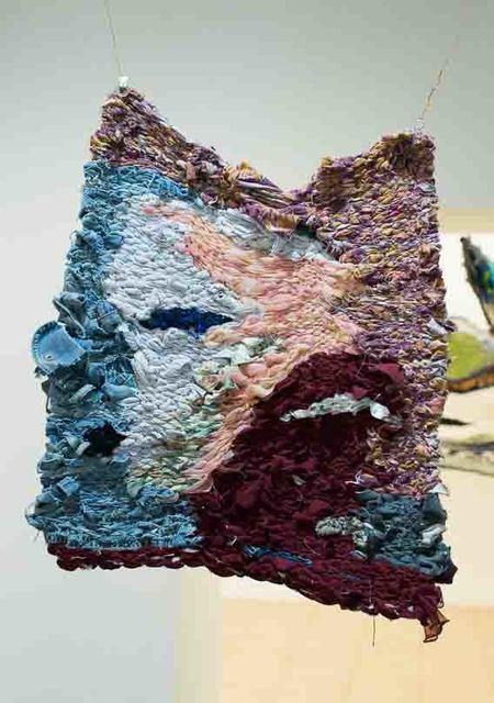 ", 'Tapestry ""Portrait"",' 2017, 25KADR GALLERY"