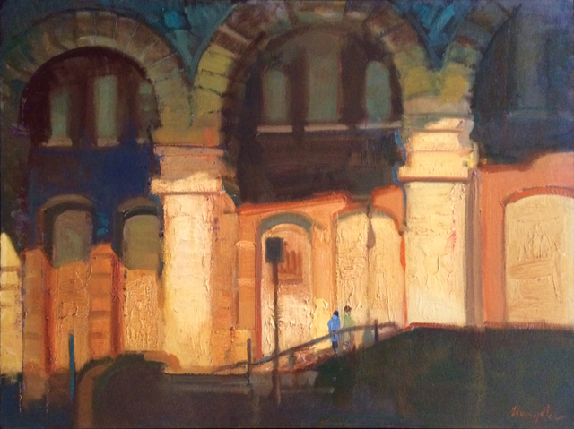 , 'Under the Brooklyn Bridge,' 2017, Sue Greenwood Fine Art
