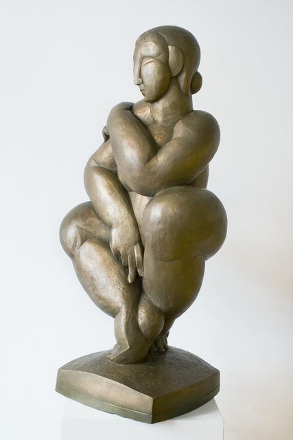 Giovanni Rindler, 'Hockender Akt (Crouching Nude)', 2002, Galerie Lehner