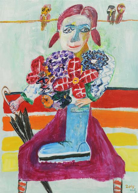 , '비온 후 갬,' 2015, Picasso Gallery