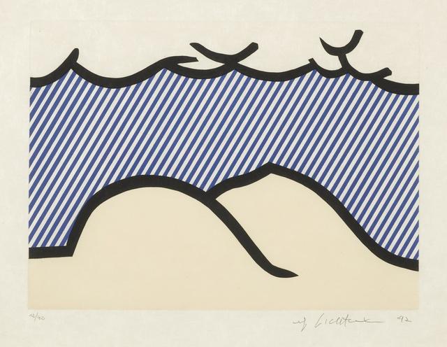 "Roy Lichtenstein, 'Illustration for ""De Denver au Montana, Départ 27 Mai 1972"" (I) (C. 275)', 1992, Sotheby's"