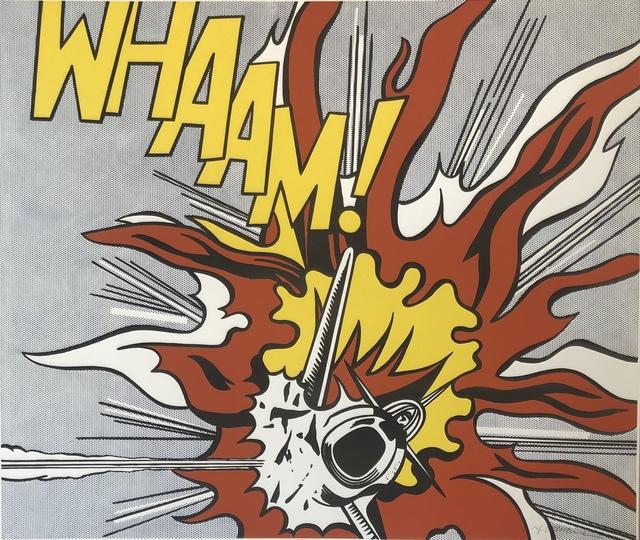 Roy Lichtenstein, 'Whaam!', 1988, Theodore B. Donson Ltd.
