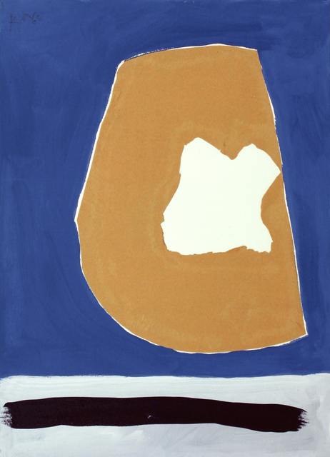 , 'In Beige, Ultramarine, and Green,' 1968/after 1983, William Shearburn Gallery