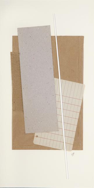 Inés Bancalari, 'Gris, ocre y blanco', 2006, Cecilia de Torres Ltd.